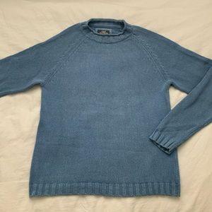H&M blue knit sweater